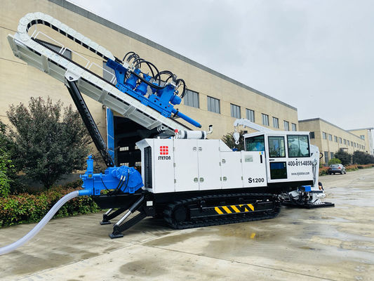 Hydraulic Control 70T 1200KN HDD Horizontal Directional Drilling Machine